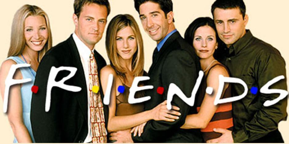 Van a puja accesorios y disfraces de Friends