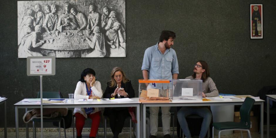 Tras conteo preliminar en España, ningún partido logra la mayoría