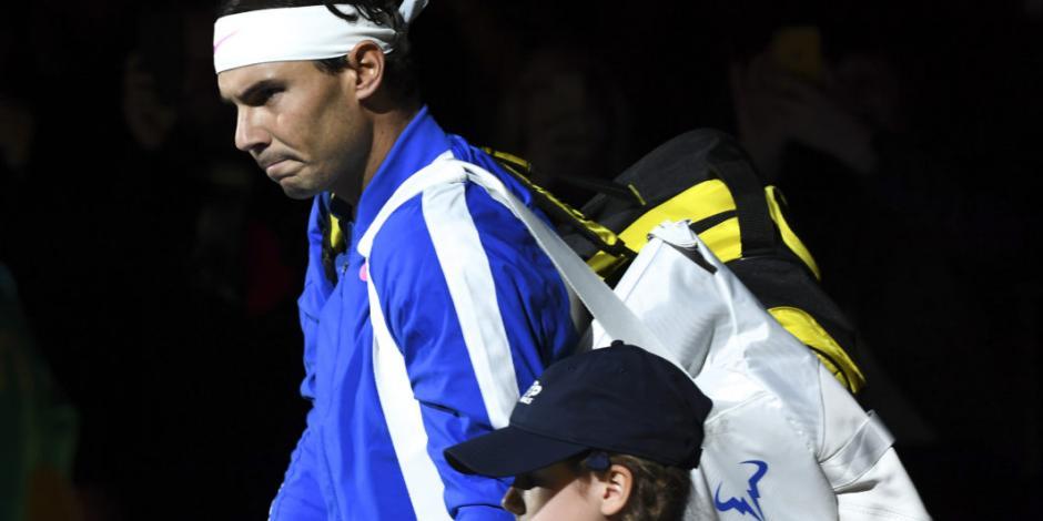 Rafael Nadal pierde ante Alexander Zverev en las Finales de ATP