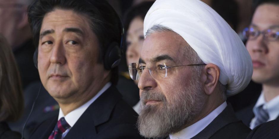 Primer ministro japonés visita Irán; busca aliviar tensiones con EU