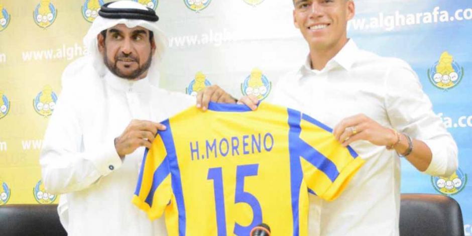 Héctor Moreno anota en su debut con el Al Gharafa