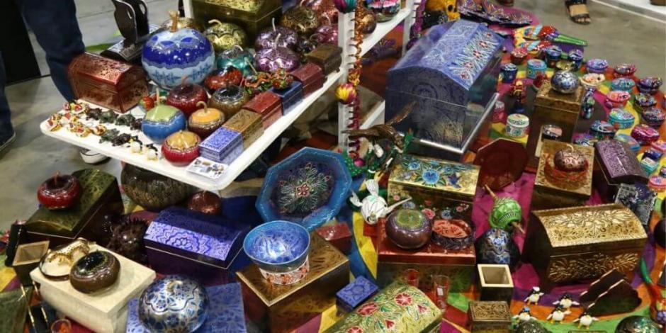 Se continúa promoviendo la riqueza cultural de Guerrero en la Mega Feria Imperial