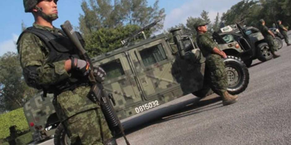 El Ejército Mexicano se retira de Tepalcatepec