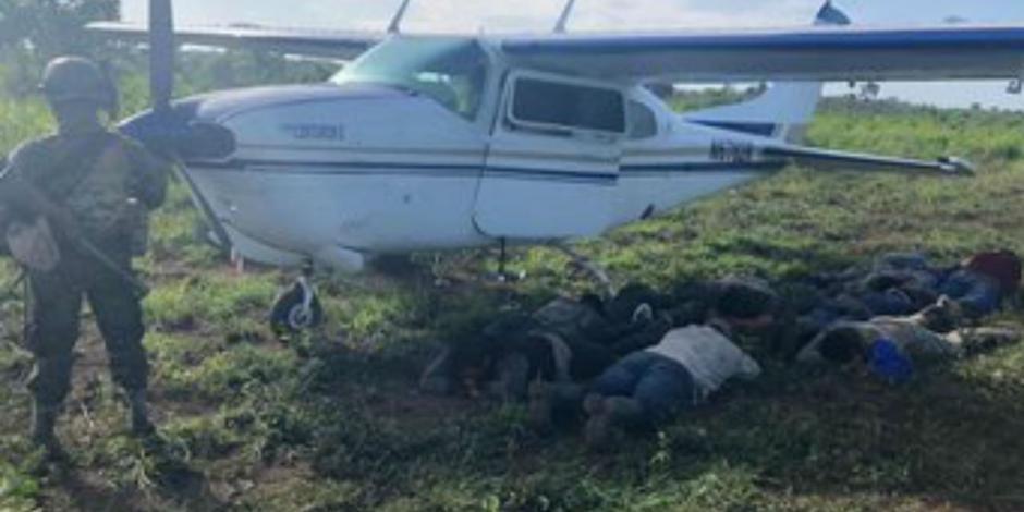 Detienen a mexicanos en Guatemala relacionados con avioneta con droga