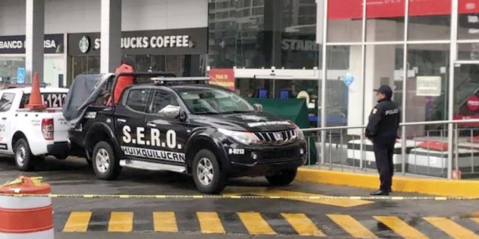Balacera en Interlomas: matan a policía y roban a cuentahabiente