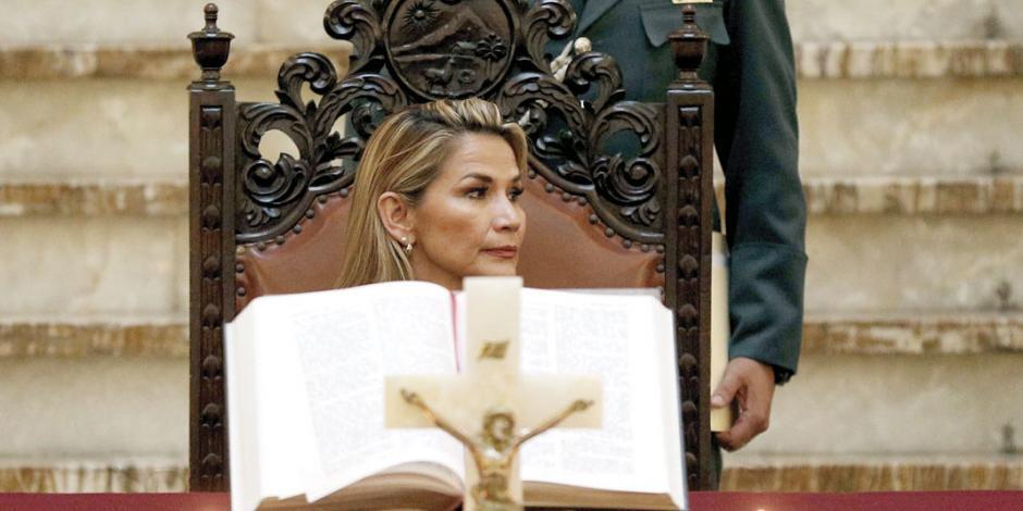Reconocen 4 países y UE a sustituta de Morales