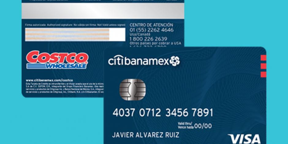 Lanzan Costco, Citibanamex y Visa nueva tarjeta de crédito