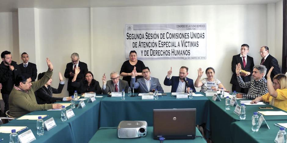 Van por comisionado de víctimas en CDMX