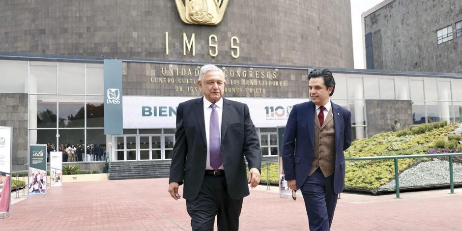 """Robledo: en el IMSS ya no hay """"visión financierista"""""""