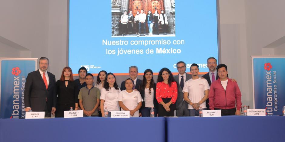 Destina Citibanamex 92 mdp para apoyar a jóvenes mexicanos