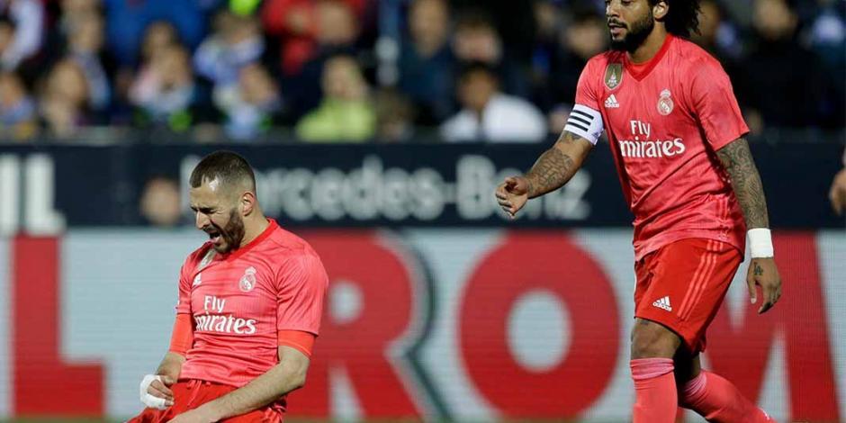 Reyes no jugó y Benzema salva al Madrid ante el Leganés