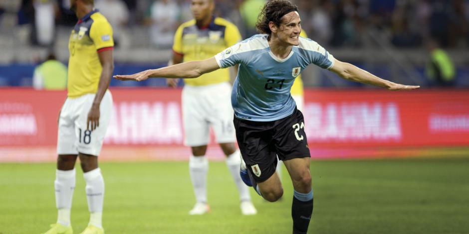 Uruguay no tiene piedad  y golea a Ecuador en su debut