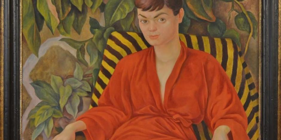 Donan obra de Diego Rivera al Munal