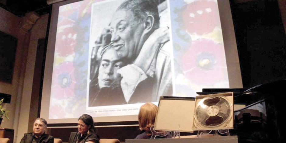 Revelan audio que se cree es la voz de Frida Kahlo