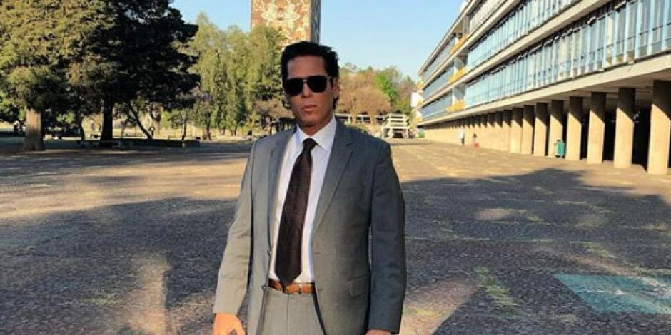 Roberto Palazuelos imparte charla a alumnos de Derecho de la UNAM