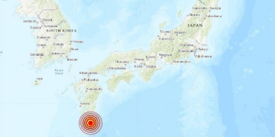 Un terremoto de 6.4 grados sacudió Japón