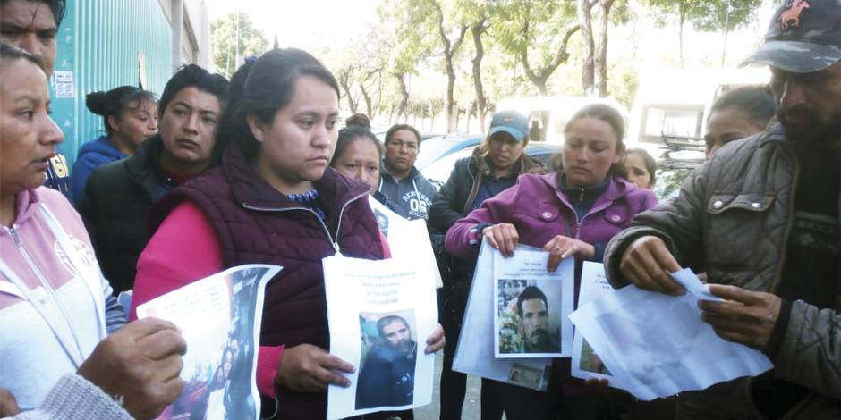 Recorren hospitales 25 familias; buscan hallar a desaparecidos