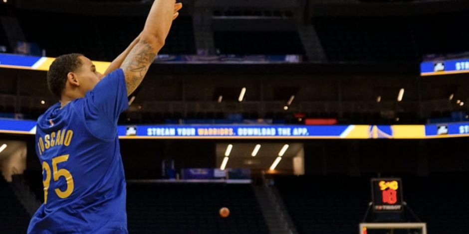 VIDEO: Ante LeBron, mexicano Toscano debuta con Warriors