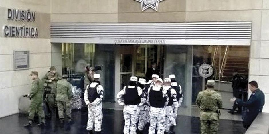 PRD pide limitar uso de fuerza a Guardia Nacional