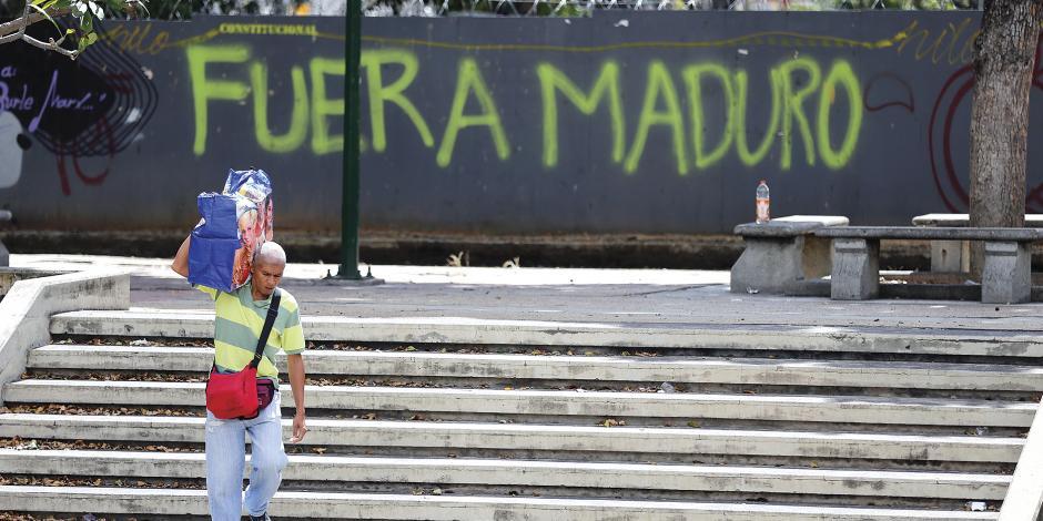 Caracas, un desierto de incertidumbre