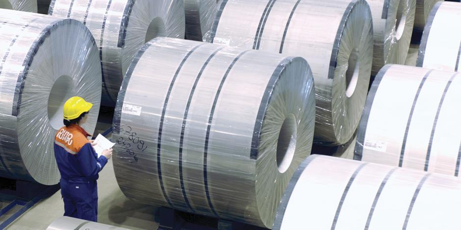 Pese a aranceles, México exporta 10.2% más acero a Washington