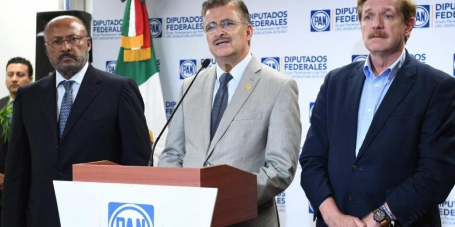Arman PAN, PRI y MC frente contra Morena en San Lázaro