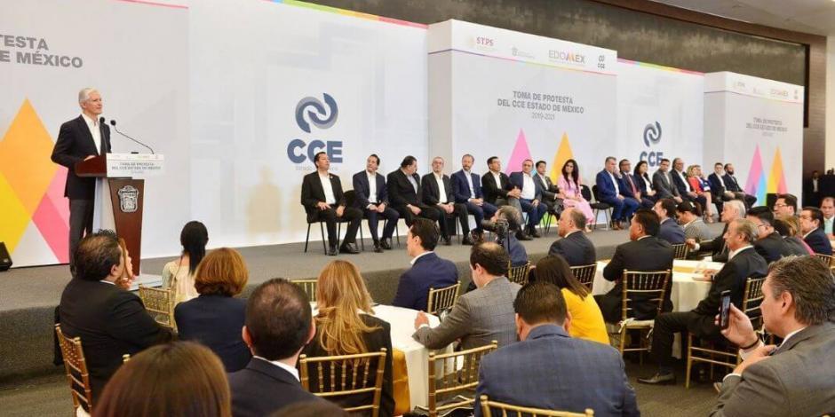 Edomex y empresarios trabajan en coordinación por el desarrollo: Alfredo del Mazo