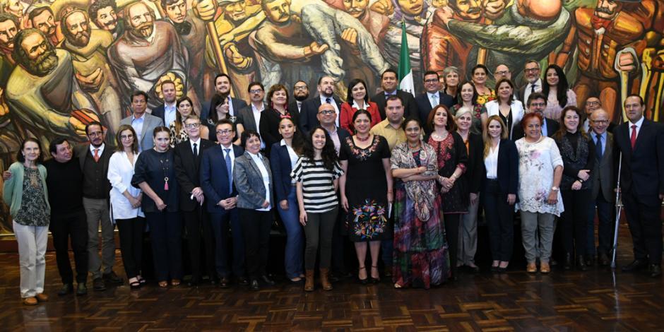 Secretaría de Cultura busca alianza para lograr una política cultural exitosa