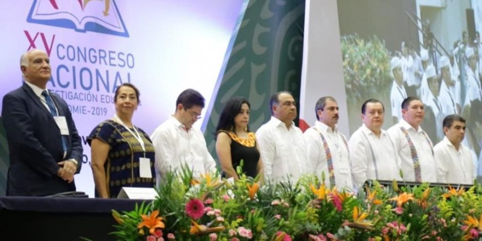 Arranca en Acapulco, Guerrero, el XV Congreso Nacional de Investigación Educativa