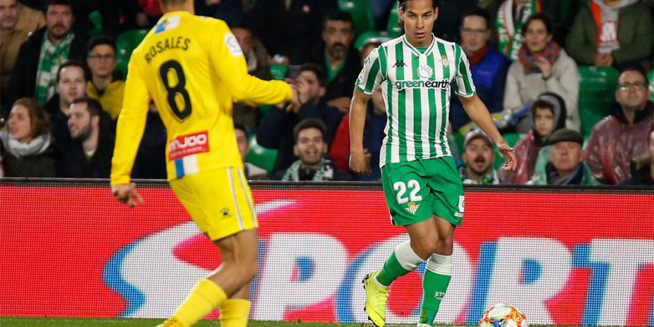 Betis llega a semis de Copa del Rey con Lainez y Guardado