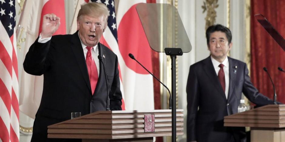 Trump respalda pruebas de misiles de Norcorea y dichos contra Joe Biden