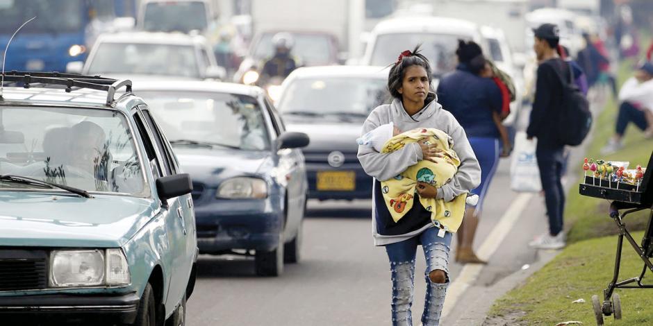 Colombia da nacionalidad a 24 mil hijos de venezolanos sin patria