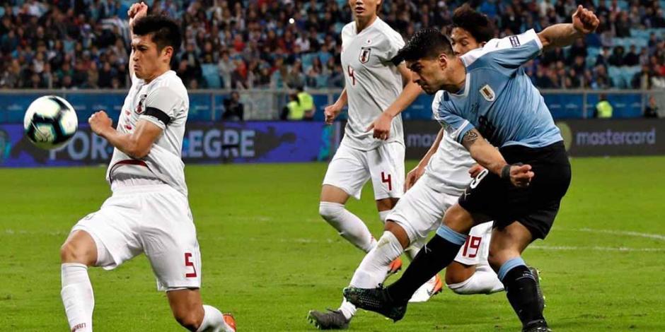 Japón frena a Uruguay con empate en la Copa América