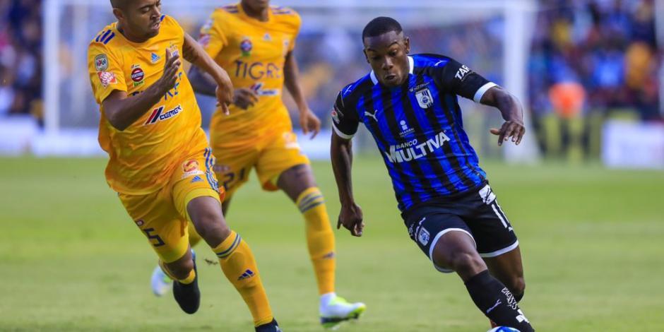 Gallos Blancos y Tigres dividen puntos en Querétaro tras empate 0-0