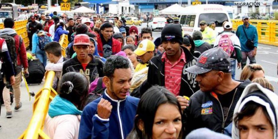 A partir de este lunes, Ecuador exige visa tras el arribo de miles migrantes venezolanos