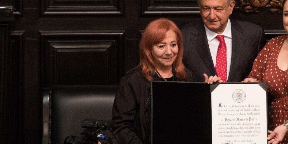AMLO asegura que Rosario Piedra no será achichincle de su gobierno