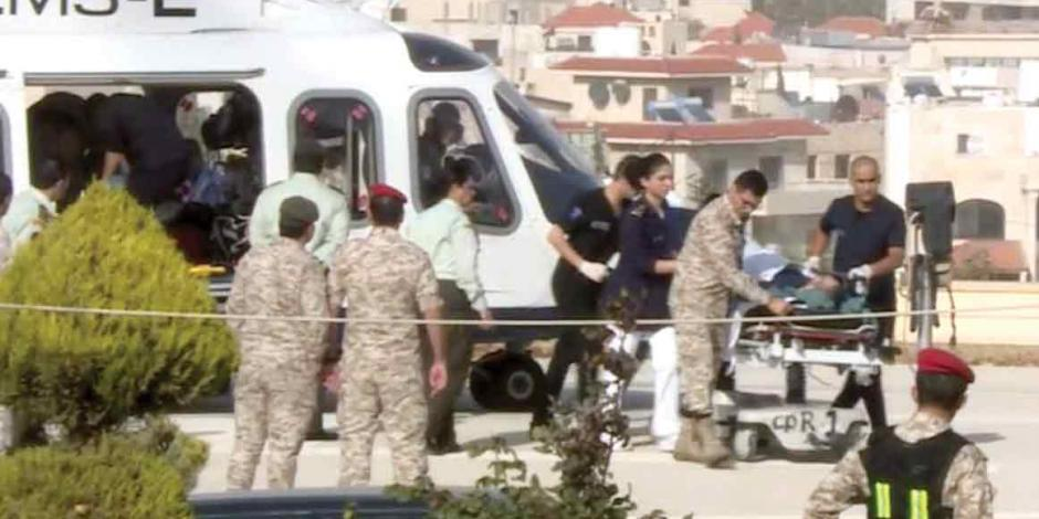 Palestino acuchilla a turistas en Jordania; 3 son mexicanos (VIDEO)