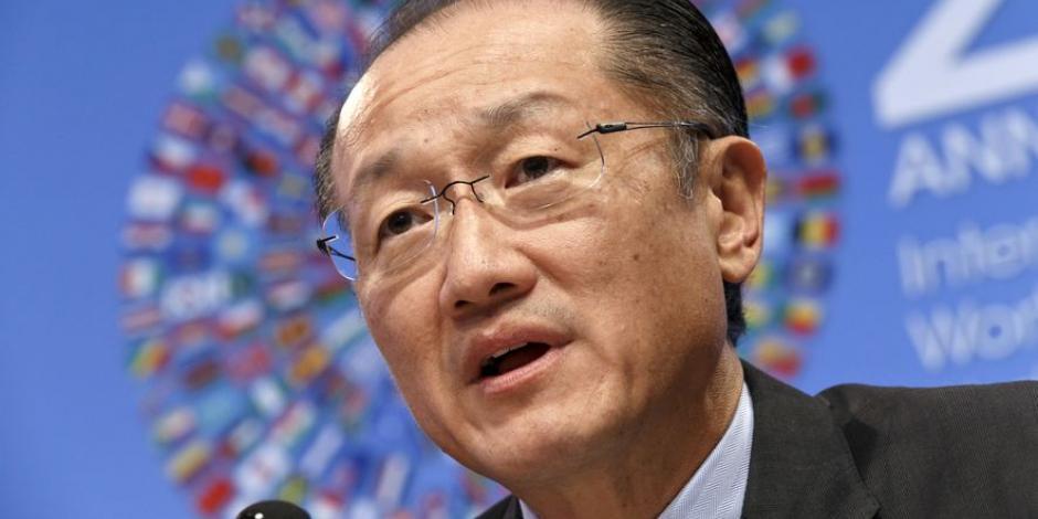 Dimite Jim Yong Kim, presidente del Banco Mundial
