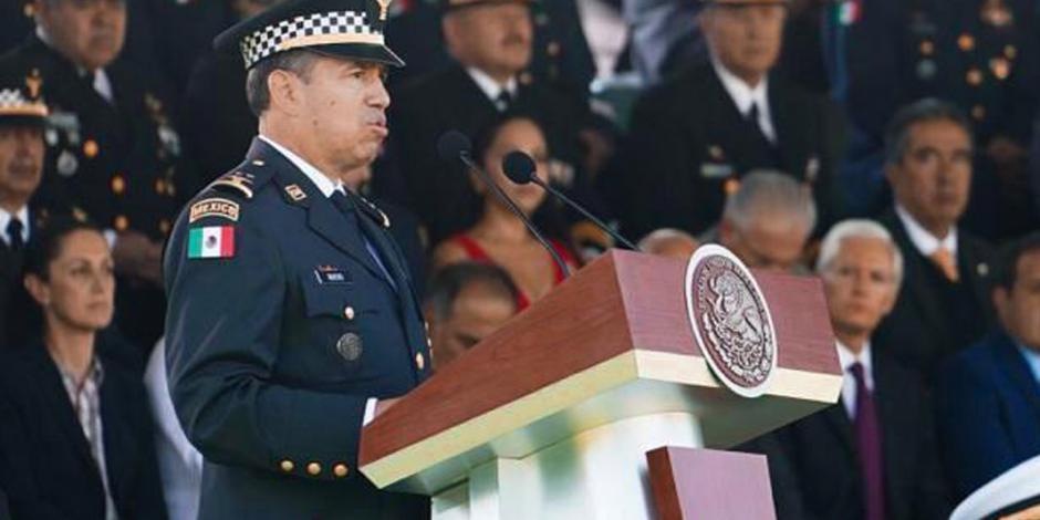 Guardia Nacional no dará tregua hasta alcanzar la paz: Rodríguez Bucio