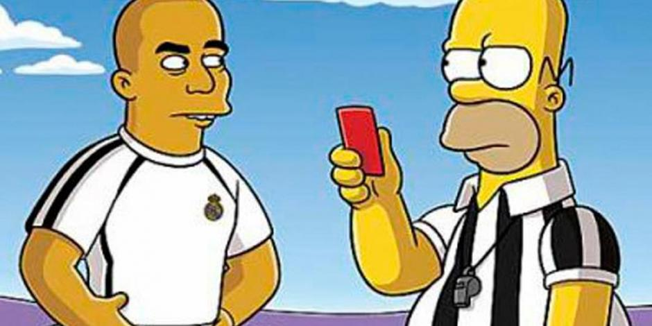 Los Simpsons, la serie perfecta para los deportistas de época (VIDEO)