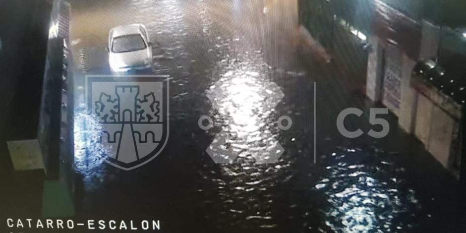 Inundaciones y encharcamientos por tormenta en CDMX… y seguirá lloviendo