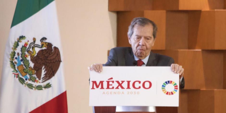 El federalismo es una asignatura pendiente: Muñoz Ledo