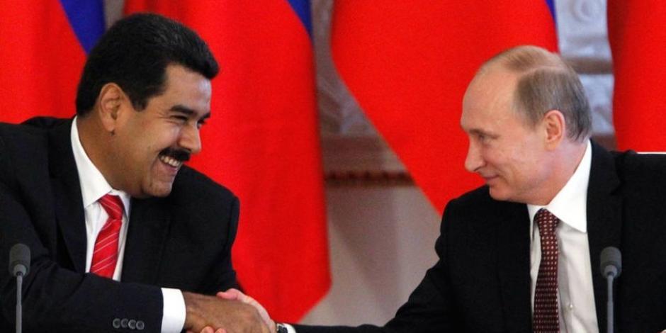 Putin llama a Maduro para ofrecerle su