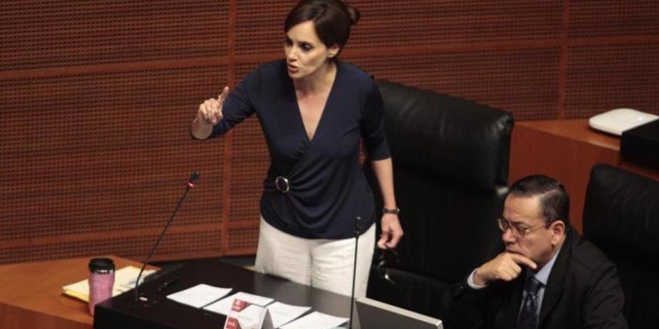 Comisión de Morena no puede expulsar a Lilly Téllez, reprocha Polevnsky
