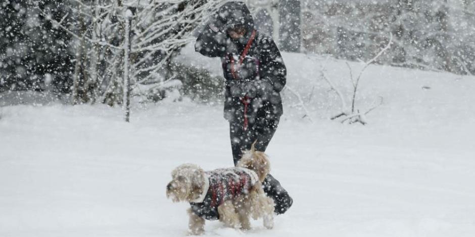 FOTOS: Fuerte ola de frío azota EU; advierten temperaturas de -50°C