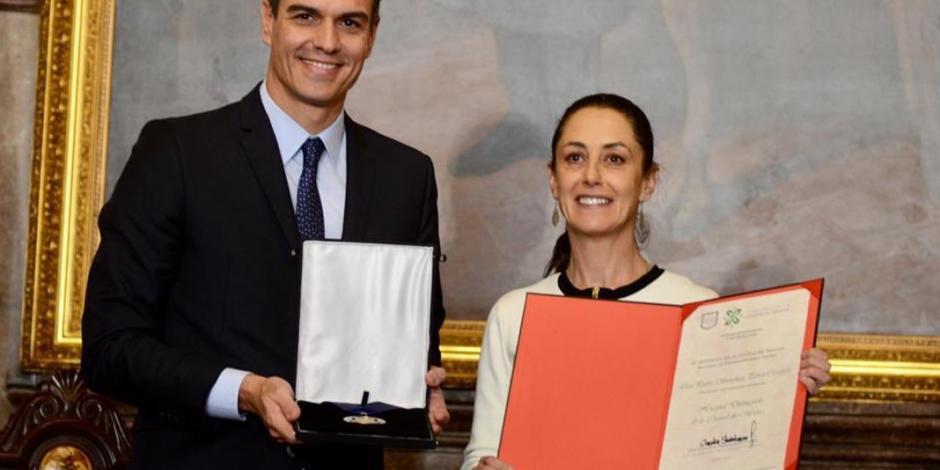 Además de madrileño, soy chilango: Presidente del gobierno español