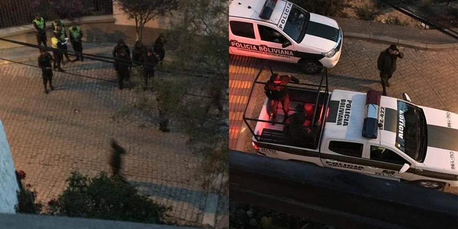 Vigilancia en sedes diplomáticas de México en Bolivia cumple 3 días