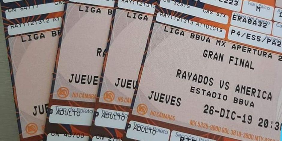 Revenden boletos para el Rayados vs América...¡hasta en 6 mil pesos!