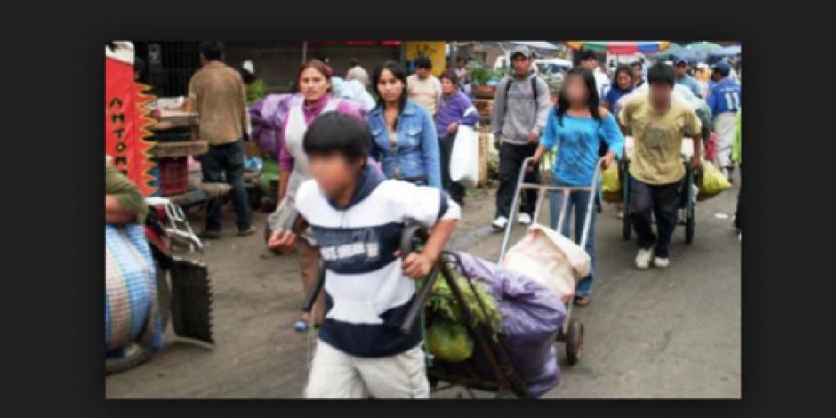 México tiene más de 3.2 millones de niños trabajadores