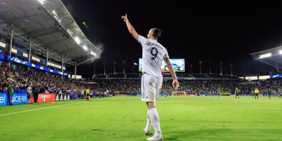 Ibrahimovic deja al Galaxy luego de dos campañas